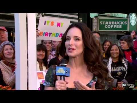 Entrevista televisión Victoria, Daniel y Emily