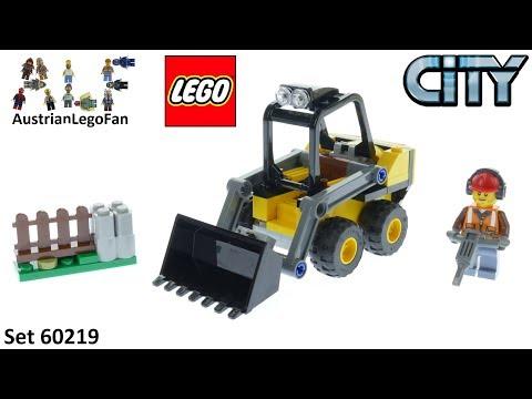 Vidéo LEGO City 60219 : La chargeuse