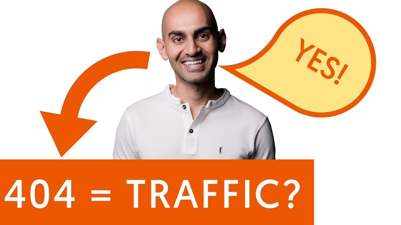 How to Drive More Traffic Using 404 Error Pages