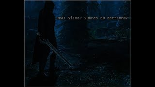 Skyrim Mod Special Edition - Real Silver Swords by docteur87 'Original by Gizmodian'