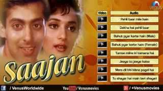 Saajan Full Songs Jukebox   Saajan 1991