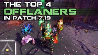 The Best 4 Offlaners in Patch 7.19   Pro Dota 2 Guides