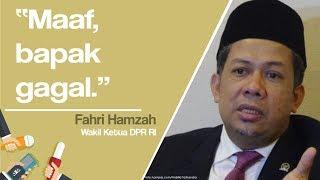 Tanggapi Pidato Kebangsaan Prabowo Subianto, Fahri Hamzah: Maaf, Bapak Gagal