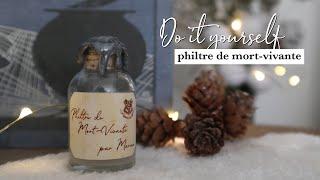 DIY HARRY POTTER   LE PHILTRE DE MORT-VIVANTE ⚗️