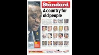 A COUNTRY FOR THE OLD: President betrays the youth, place his bet on old guards |STATE OF THE NATION