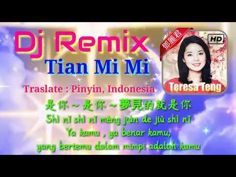 Lagu Lama Edit Dj Remix Mandarin 甜蜜蜜 Tian Mii - Semanis madu