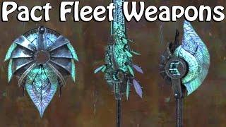 Guild Wars 2 ● Pact Fleet Weapon Skins
