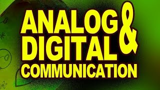 Analog Communication and Digital Communication | Physics Video Lectures