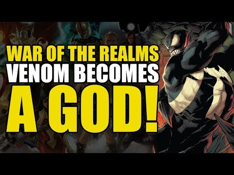 War Of The Realms: Venom Becomes A God   Comics Explained