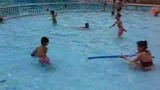 Splash in Shanghai