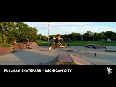 Aerial: Pullman Skatepark