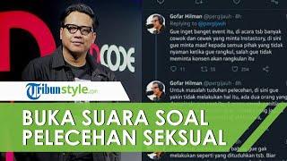 Gofar Hilman Bantah Lakukan Pelecehan Seksual di Tempat Umum, Minta Selesaikan di Jalur Hukum