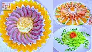 5 Beautiful Fruit & Vegetable Arrangements   Food Art Ideas & Hacks