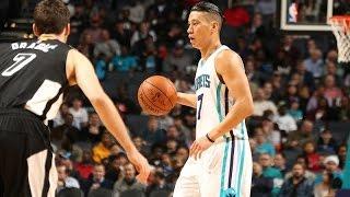 林書豪Jeremy Lin's Offense & Defense Highlights 2015-12-10 Hornets VS Heat