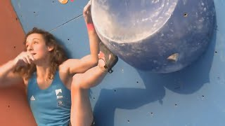 Cool moments in climbing competitions