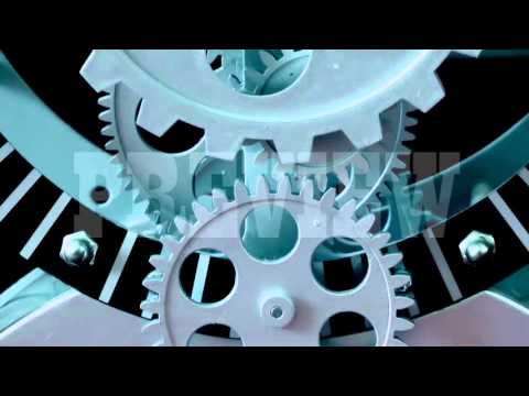 Analog Clock Gears 14