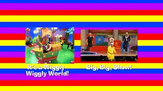 The Wiggles -  Six Months in a Leaky Boat Comparison