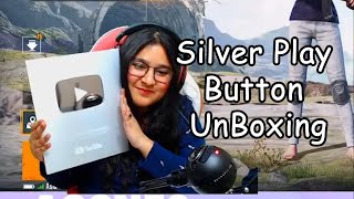 100K BUTTON UNBOXING HIGHLIGHT || AGGNES GAMING ||