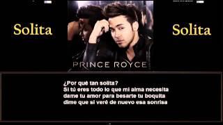 Letra Prince Royce - Solita.mp3