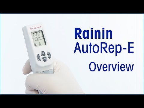 AutoRep E. - Adjustable Repeating Pipettes