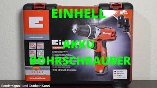 [XXL REVIEW] Einhell Akku-Bohrschrauber TE-CD 12 LI   Sondersignal- und Outdoor-Kanal