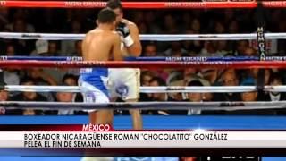 Boxeador nicaragüense está en México listo para pelea del 15 de febrero