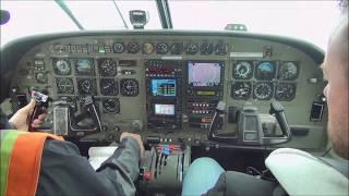 Flying from Barrow to Nuiqsut Airport Alaska at the top of Alaska!