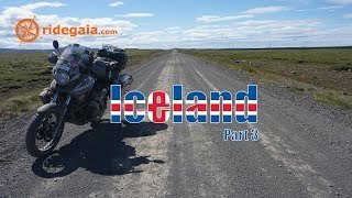 Ep 78 - Iceland (part 3) - Motorcycle Trip Around Europe