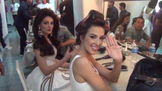 Miss Venezuela 2016 contestants presentation after cameras