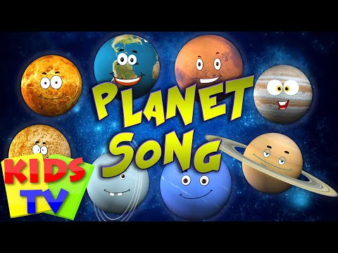 Planet Song | solar system song | Kids Tv Nursery Rhymes For Children | Learning Videos For Kids