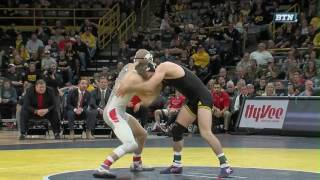 Ohio State at Iowa – Wrestling Highlights