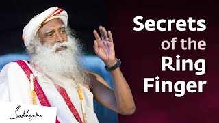 The Spiritual Significance oftheRing Finger | Sadhguru