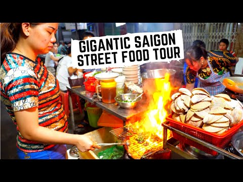 UNREAL STREET FOOD in Vietnam | Vietnamese SEAFOOD feast | Best street food in Ho Chi Minh City