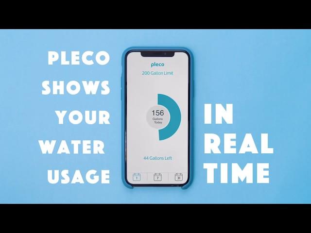 Умные водяные часы Pleco оптимизируют расход воды в доме