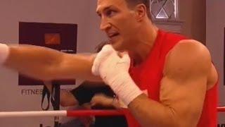 Открытая тренировка Владимира Кличко   Klitschko Open Training Session  (WorkOut)