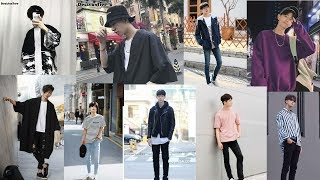 Korean Men Vs Japanese Men Fashion Trendy Outfit 2019.