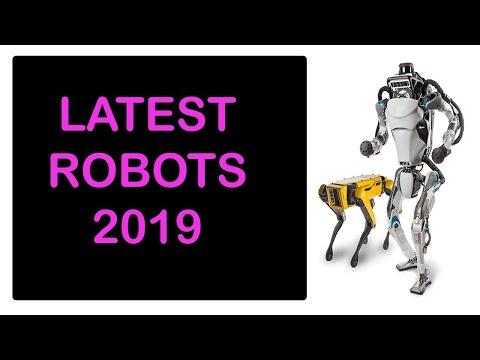 most advanced ai robot in the world   Latest Robots 2019   Advances Humanoid Robots