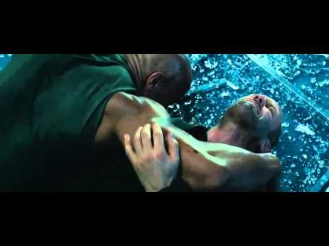 Fast and Furious 7.The rock vs jason statham