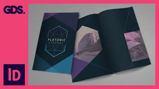 Add Images & texture to brochure design in InDesign Ep10/15 [Multimedia design course - Print]