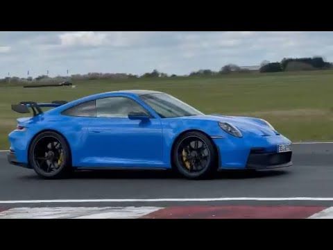 NEW Porsche 992 GT3 Proves OPF Exhaust Can Still Sound Awesome! #Shorts