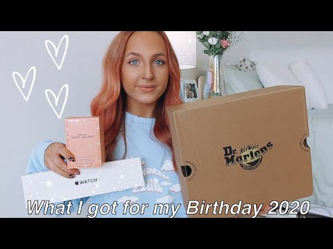 WHAT I GOT FOR MY BIRTHDAY & VLOG: Apple Watch SE, Dr Martens, Mango ,Topshop etc..