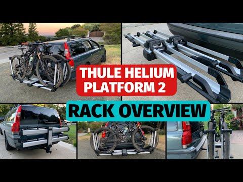 Thule Helium Platform 2 hitch bike tray rack review