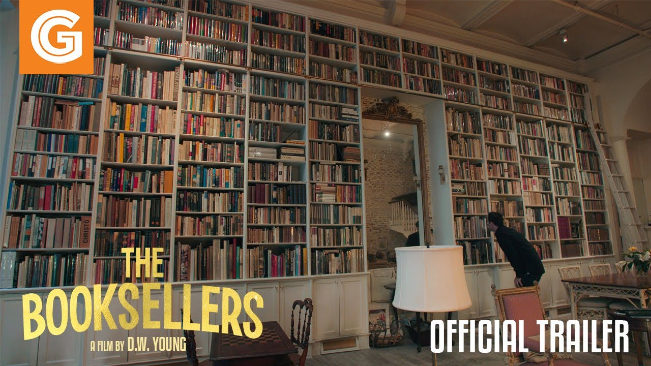 Video trailer för The Booksellers | Official Trailer