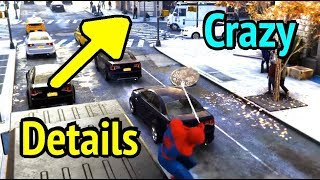 Crazy Fun Details in Spider-Man PS4 You May Have Missed (Marvel