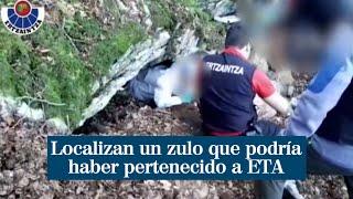 Localizan un zulo que podría haber pertenecido a ETA en Gipúzcoa