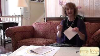 Cross Stitch - Adding Back Stitch, French Knots And Finishing Off Your Piece