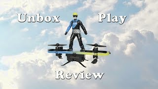 AIR HOGS EXTREME AIR BOARD Unbox Play and Review