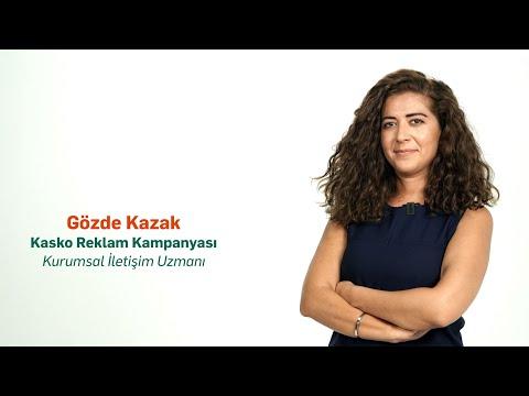 Gözde Kazak – Kasko Reklam Kampanyası