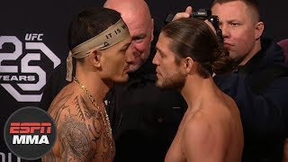 UFC 231 Weigh-Ins: Holloway vs. Ortega, Shevchenko vs. Jedrzejczyk [FULL] | ESPN MMA