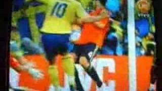 Suecia 1 España 2